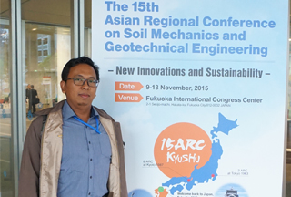 The 15th Asian Regional Conference on Soil Mechanics and Geotechnical Engineering at Fukuoka Japan